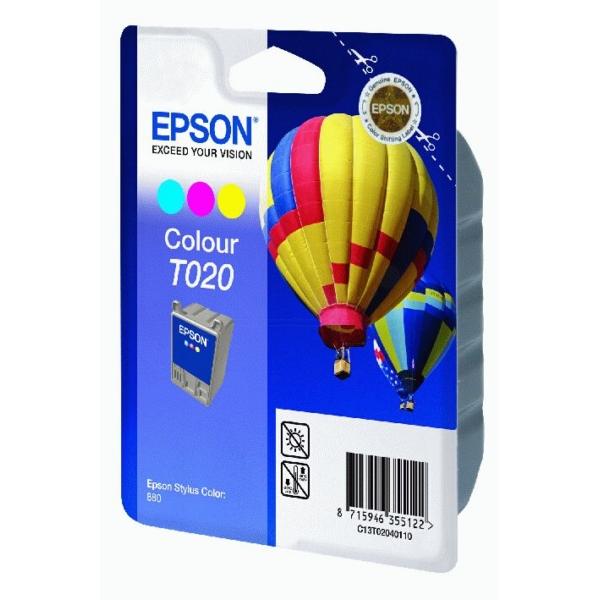 original epson c13t02040110 t020 tintenpatrone color. Black Bedroom Furniture Sets. Home Design Ideas