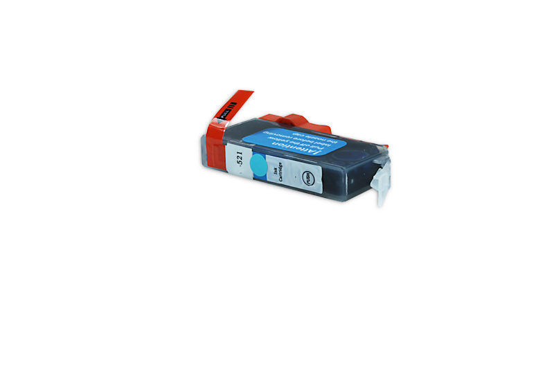 Canon CLI-521 C / 2934 B 001 Tintenpatrone cyan kompatibel