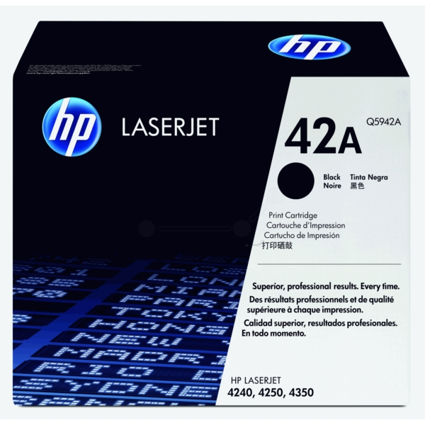 Original HP Q5942A / 42A Toner black