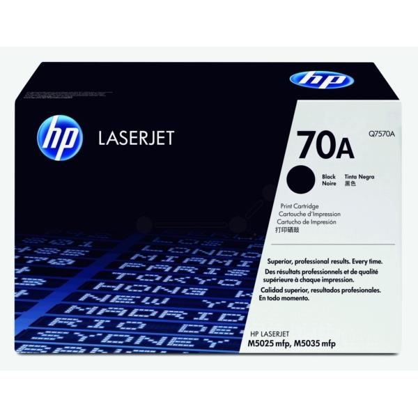Original HP Q7570A / 70A Toner schwarz