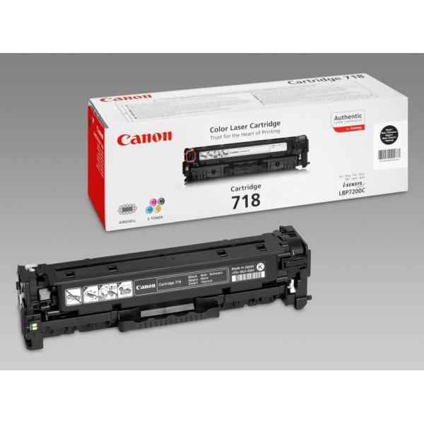 Original Canon 2662B002 / 718BK Toner schwarz