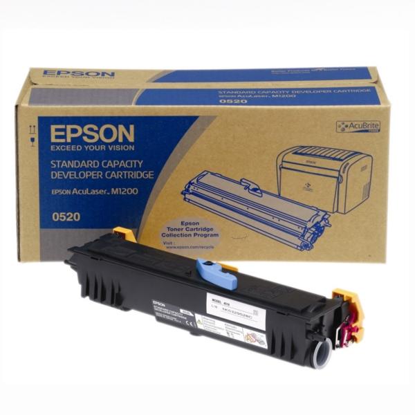 Original Epson C13S050520 / 0520 Toner schwarz