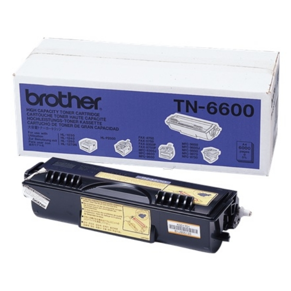 Original Brother TN6600 Toner noir