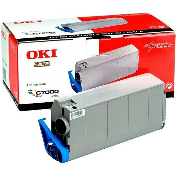Original OKI 41963008 Toner schwarz