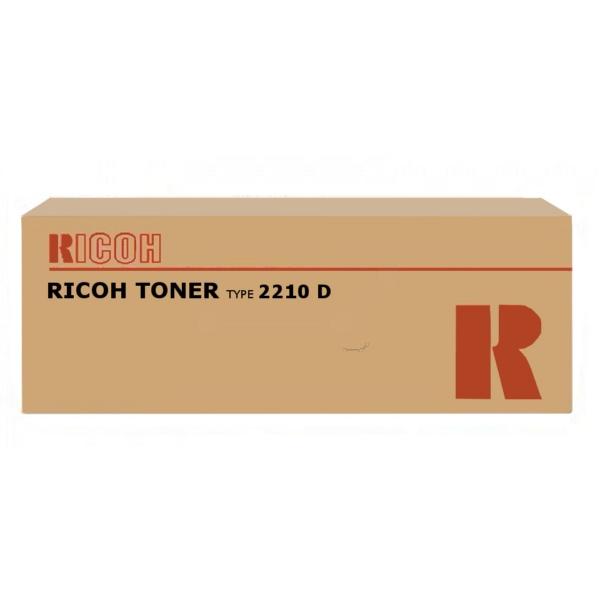 Original Ricoh 885229 / TYPE2210D Toner schwarz