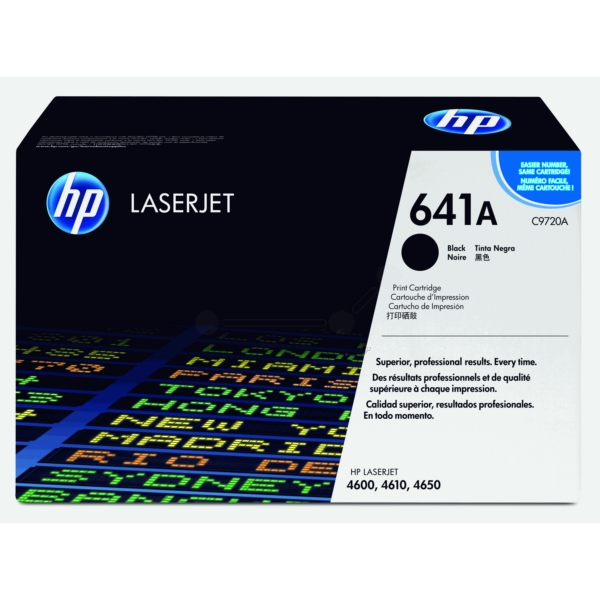 Original HP C9720A / 641A Toner black