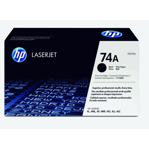 Original HP 92274A Toner schwarz