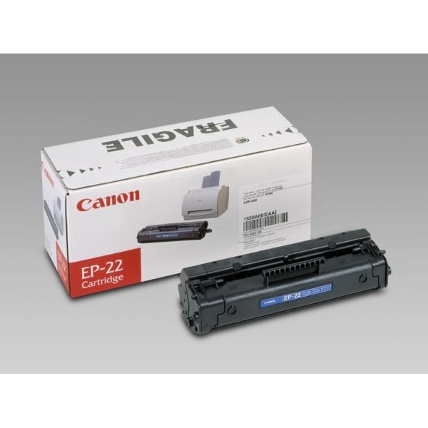 Original Canon 1550A003 / EP22 Toner black