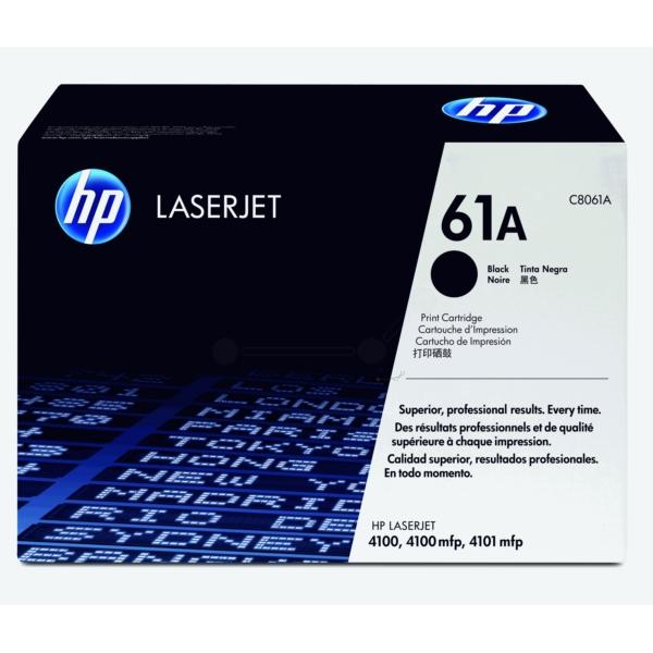 Original HP C8061A / 61A Toner schwarz