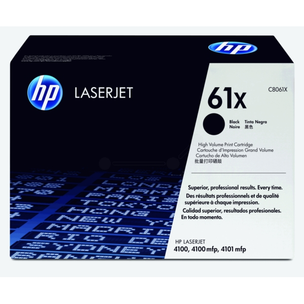 Original HP C8061X / 61X Toner black