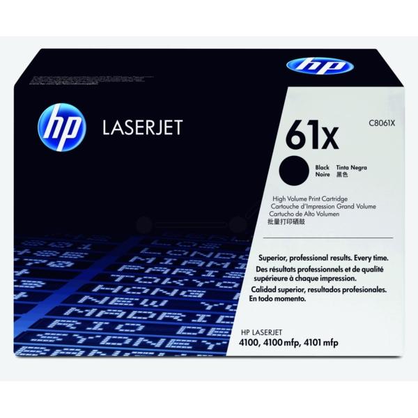 Original HP C8061X / 61X Toner schwarz