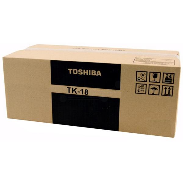 Original Toshiba 21204099 / TK18 Toner schwarz