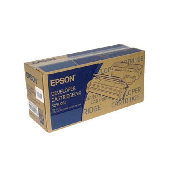 Original Epson C13S050087 / S050087 Toner schwarz
