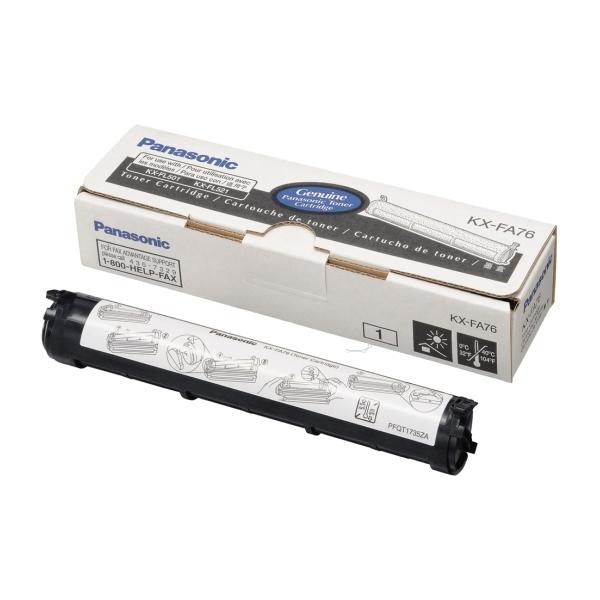 Original Panasonic KXFA76X Toner schwarz