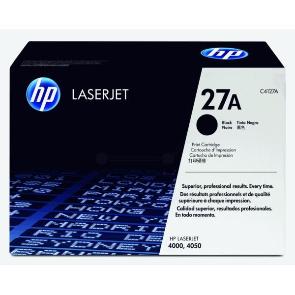 Original HP C4127A / 27A Toner schwarz