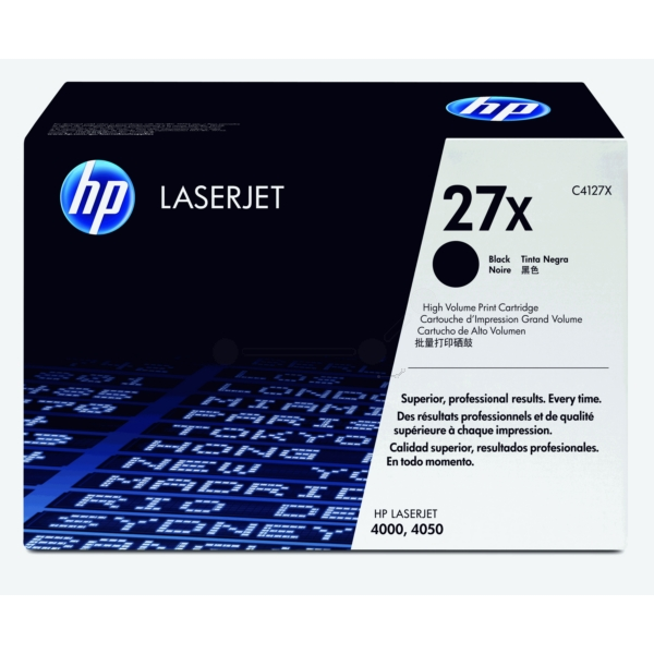 Original HP C4127X / 27X Toner black