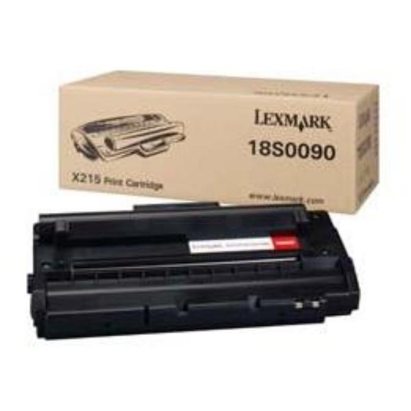 Original Lexmark 18S0090 Toner schwarz