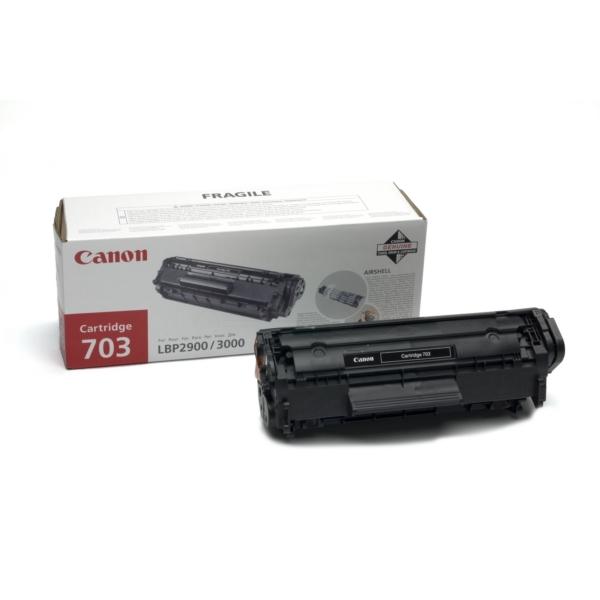 Original Canon 7616A005 / 703 Toner noir