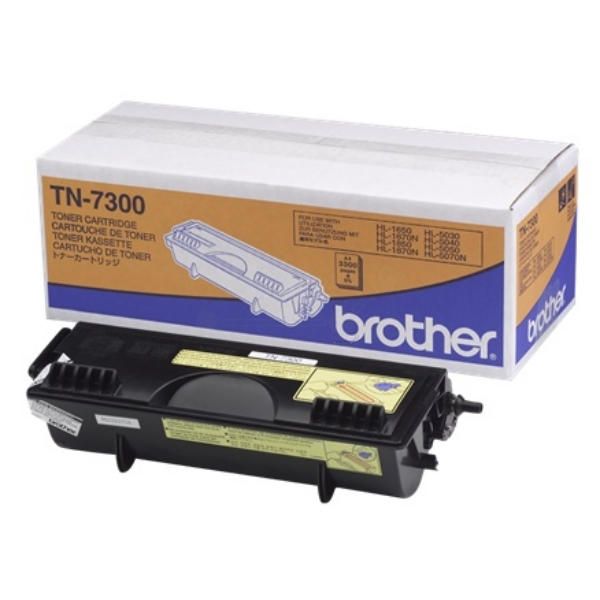 Original Brother TN7300 Toner schwarz