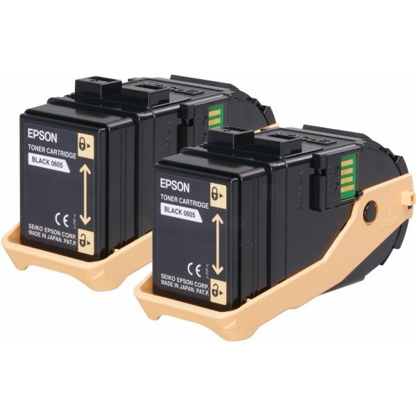 Original Epson C13S050609 / 0605 Toner schwarz