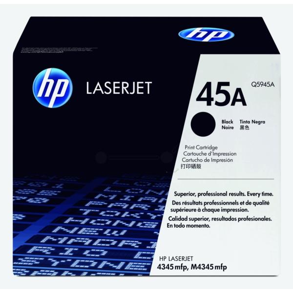 Original HP Q5945A / 45A Toner black