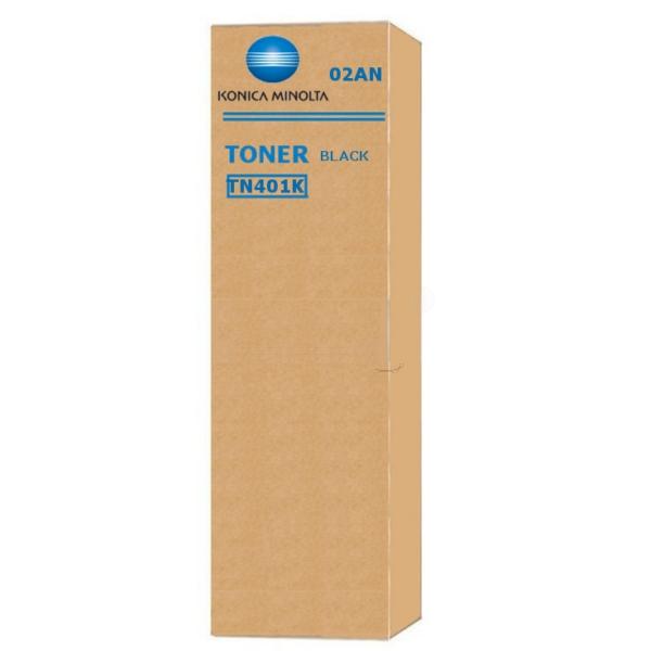 Original Konica Minolta 02AJ / TN401K Toner schwarz