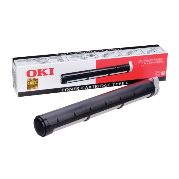 Original OKI 00079801 / TYPE6 Toner schwarz