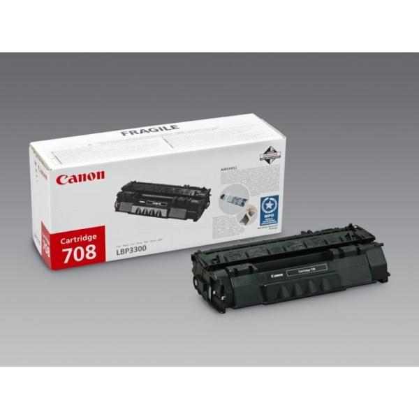 Original Canon 0266B002 / 708 Toner black