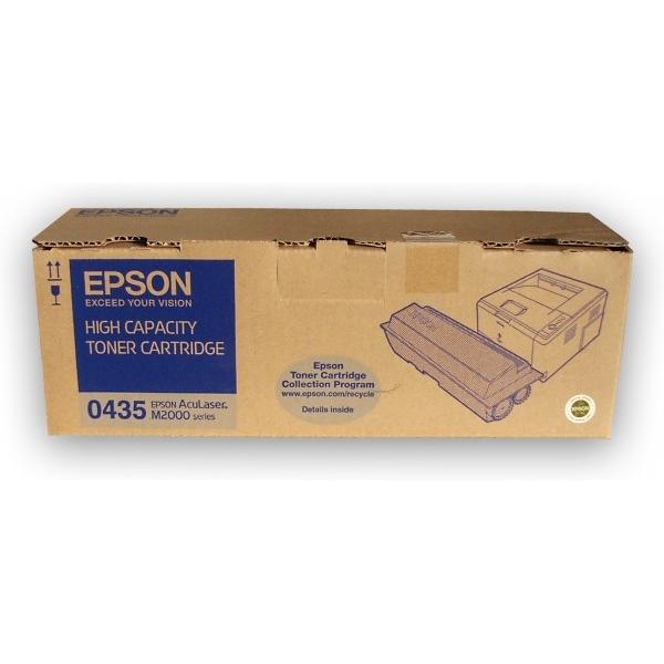 Original Epson C13S050435 / 0435 Toner schwarz