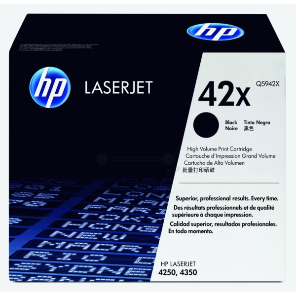 Original HP Q5942X / 42X Toner black