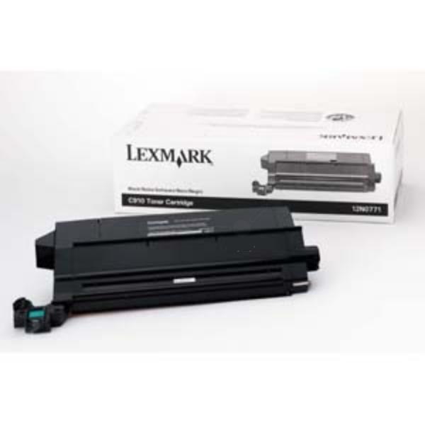 Original Lexmark 12N0771 Tóner negro
