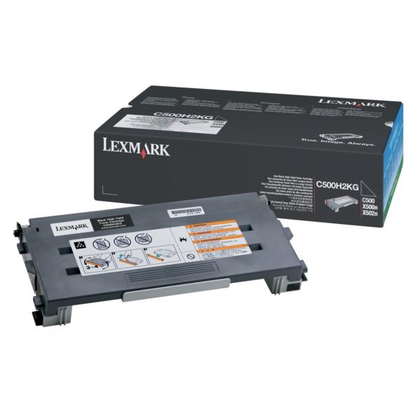 Original Lexmark C500H2KG Toner schwarz