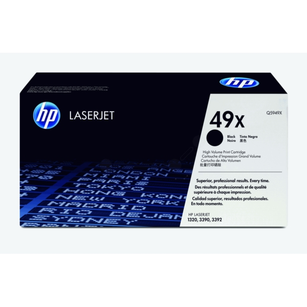 Original HP Q5949X / 49X Toner black