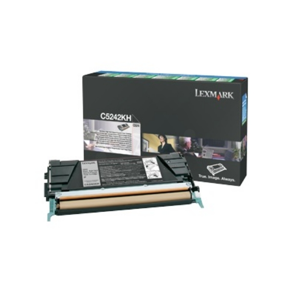 Original Lexmark C5242KH Toner schwarz