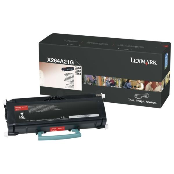 Original Lexmark X264A21G Tóner negro