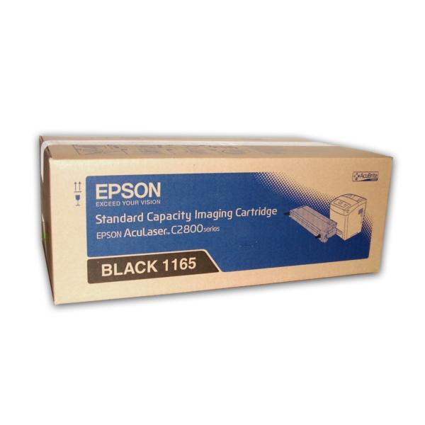 Original Epson C13S051165 / 1165 Toner schwarz