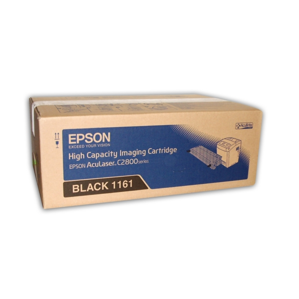 Original Epson C13S051161 / 1161 Toner schwarz