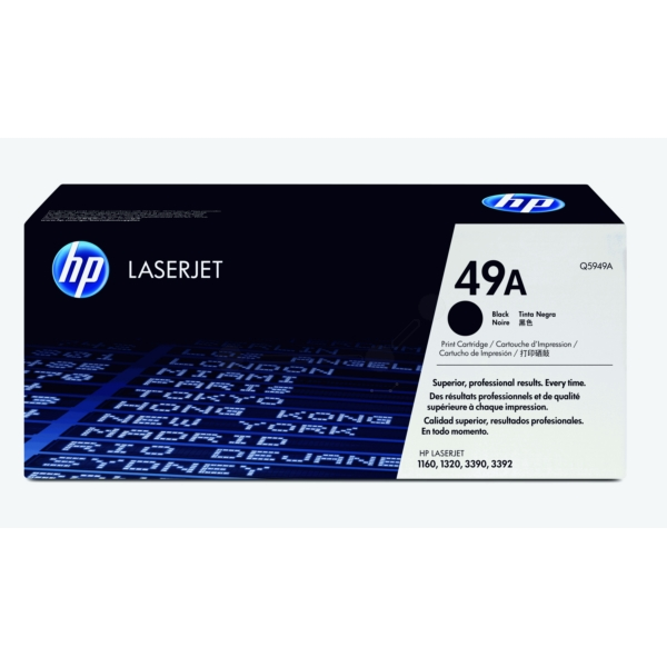 Original HP Q5949A / 49A Toner black
