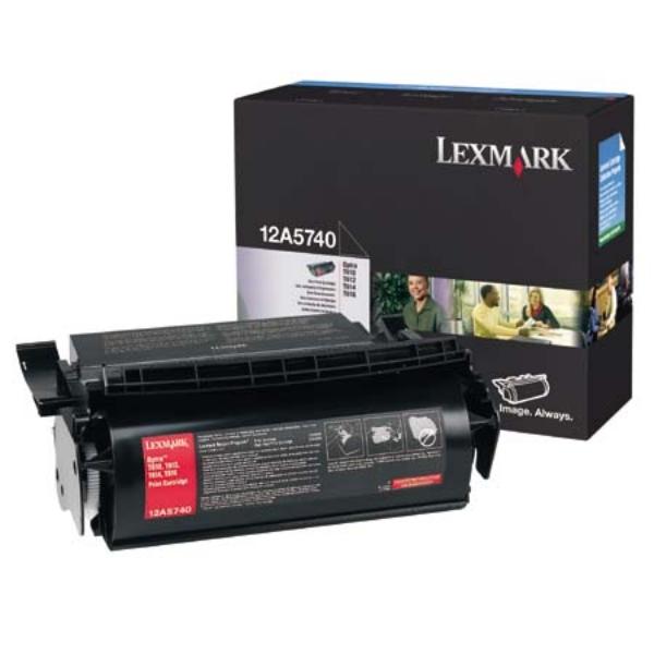 Original Lexmark 12A5740 Toner schwarz