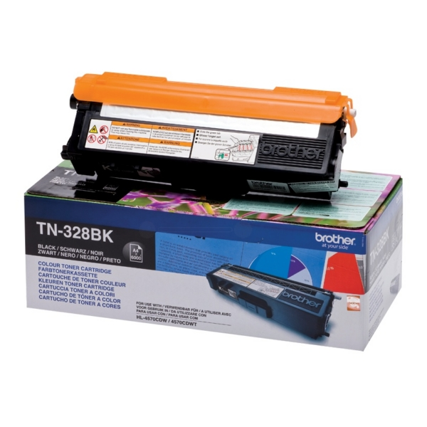 Original Brother TN328BK Toner schwarz