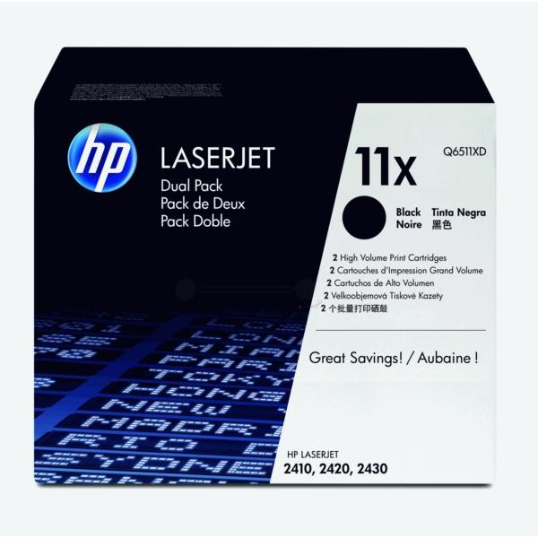 Original HP Q6511XD / 11XD Toner schwarz