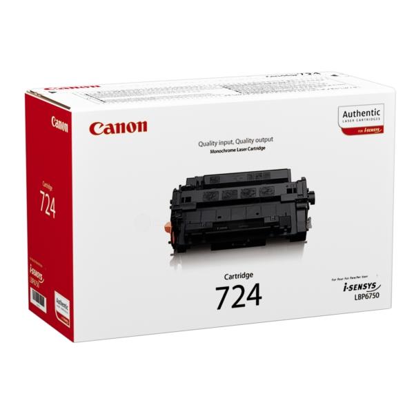 Original Canon 3481B002 / 724 Toner schwarz