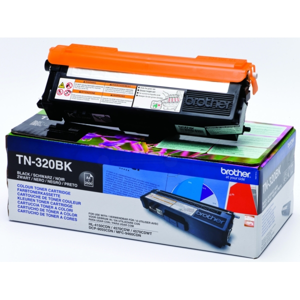Original Brother TN320BK Toner schwarz
