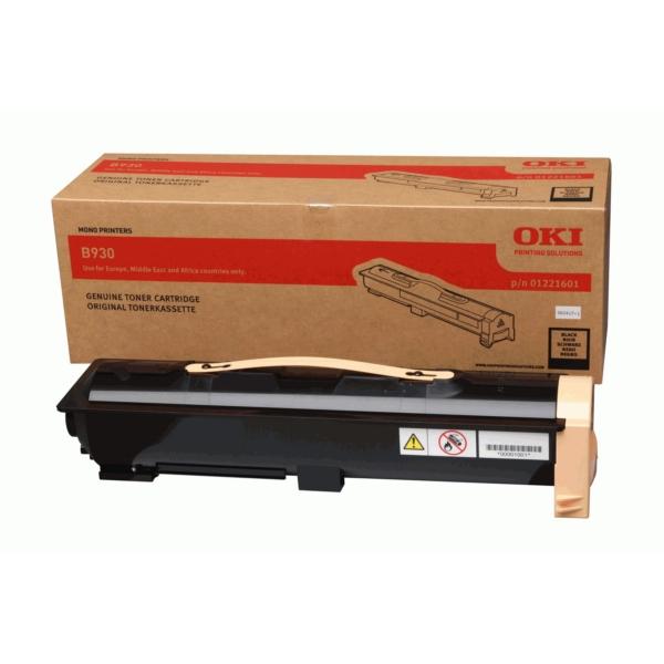 Original OKI 01221601 Toner schwarz