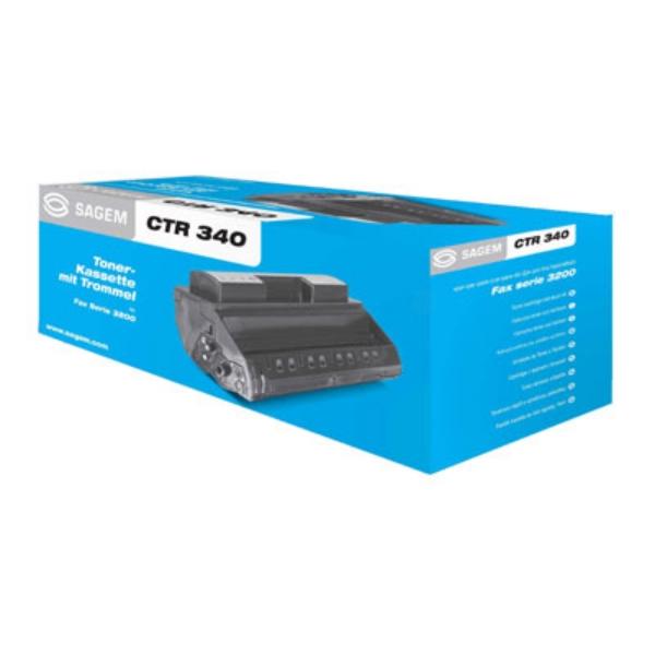 Original Sagem CTR340 / 906115313101 Toner schwarz