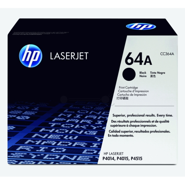Original HP CC364A / 64A Toner schwarz