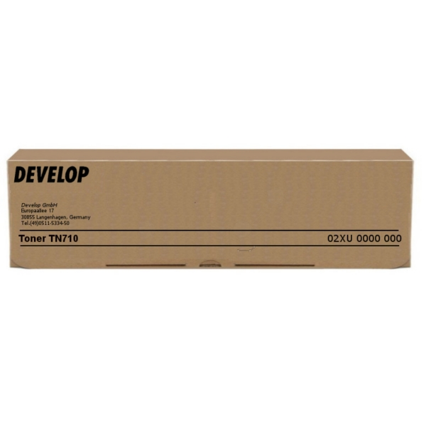 Original Develop 02XU / TN710 Toner schwarz