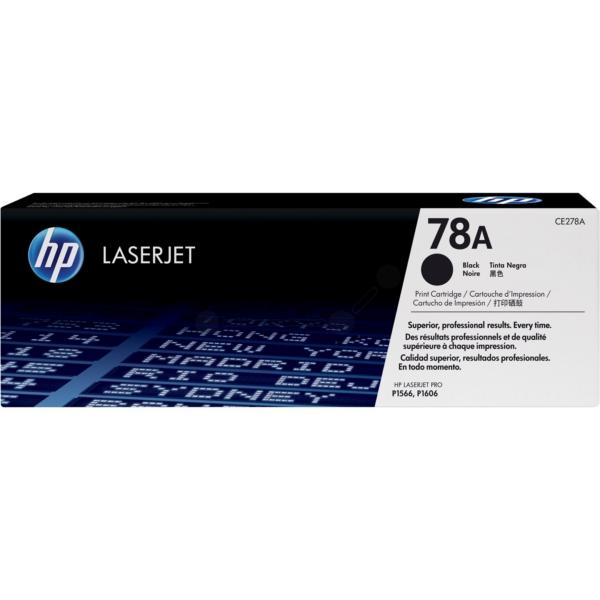 Original HP CE278A / 78A Toner schwarz