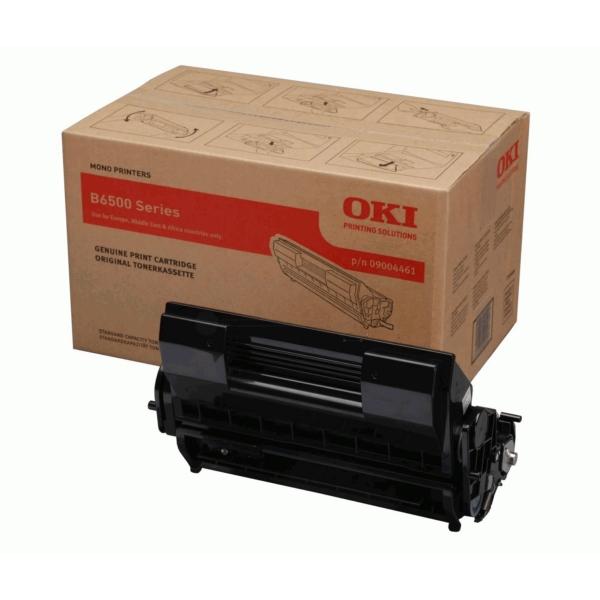 Original OKI 09004461 Toner schwarz
