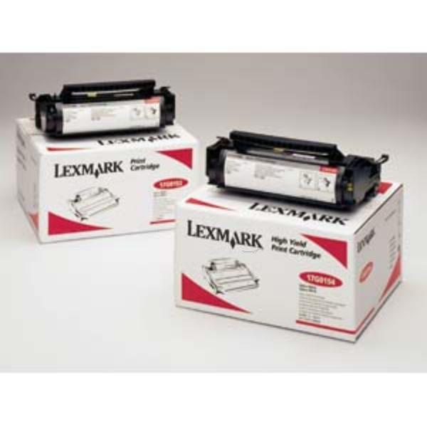 Original Lexmark 17G0154 Toner schwarz